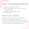 Take It Easy Facial Cleanser and Makeup Remover with Izayoi Rose Extracts