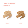 Cream to Powder Concealer and Pressed Foundation Set