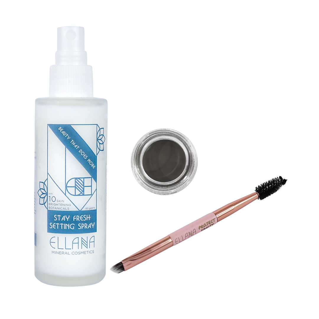Stay in Place Brow Bundle with Stay Fresh Setting Spray