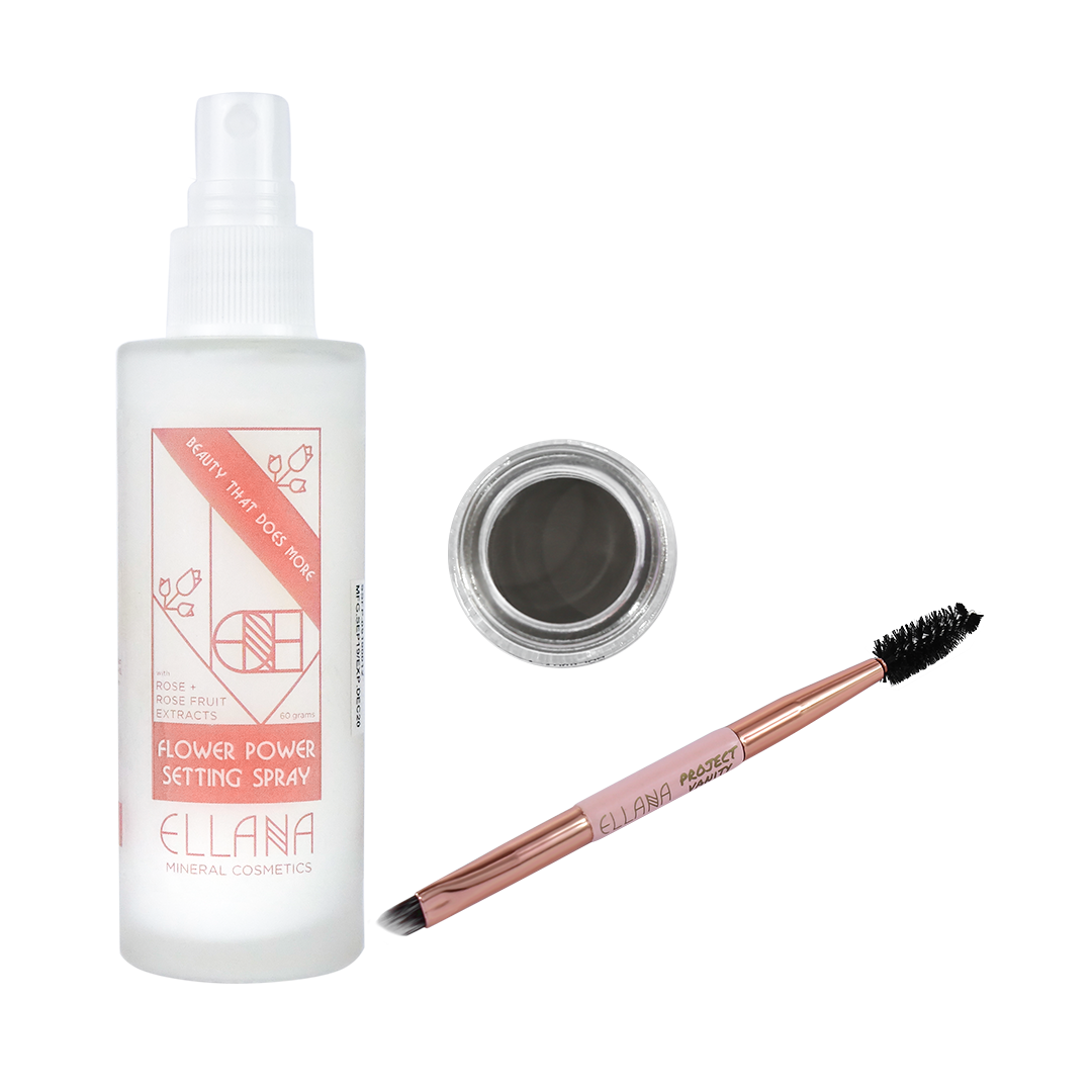 Ready & Set Brow Bundle with Hydrating Face Mist