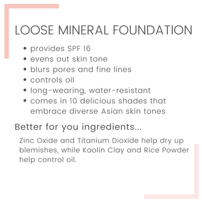 Loose Mineral SkinShield Foundation Refill with SPF16