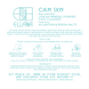 Calm Skin Balancing Low pH Mineral Powder Face Cleanser for Sensitive and Reactive Skin