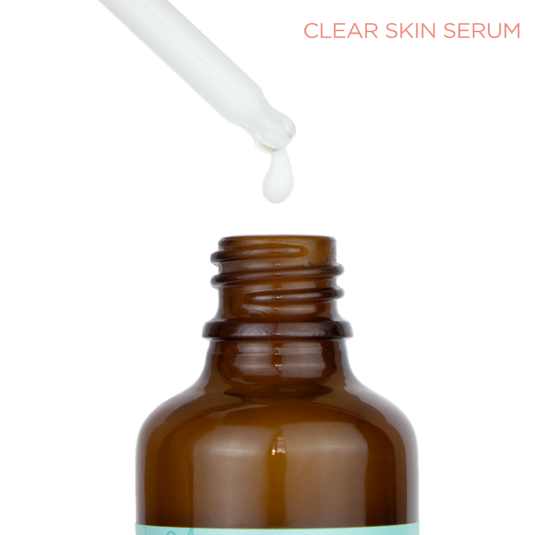 Clear Skin Clarifying Serum with 80.1% Blueberry and Botanical Actives