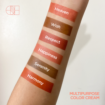 Multipurpose Color Cream | 4 Shade Palette for Eyes, Lips and Cheeks