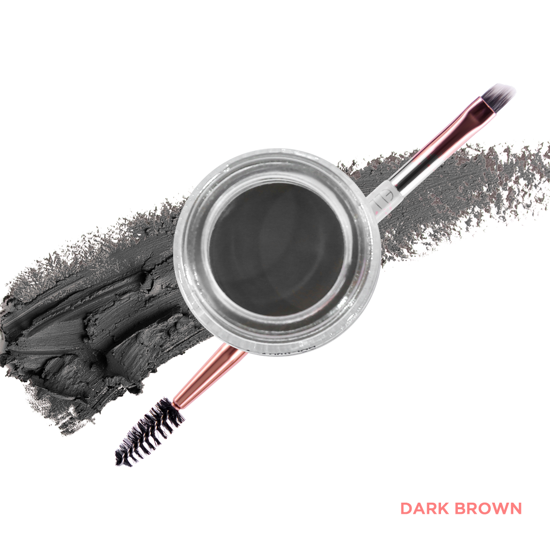 Dark Brown with Brow Brush