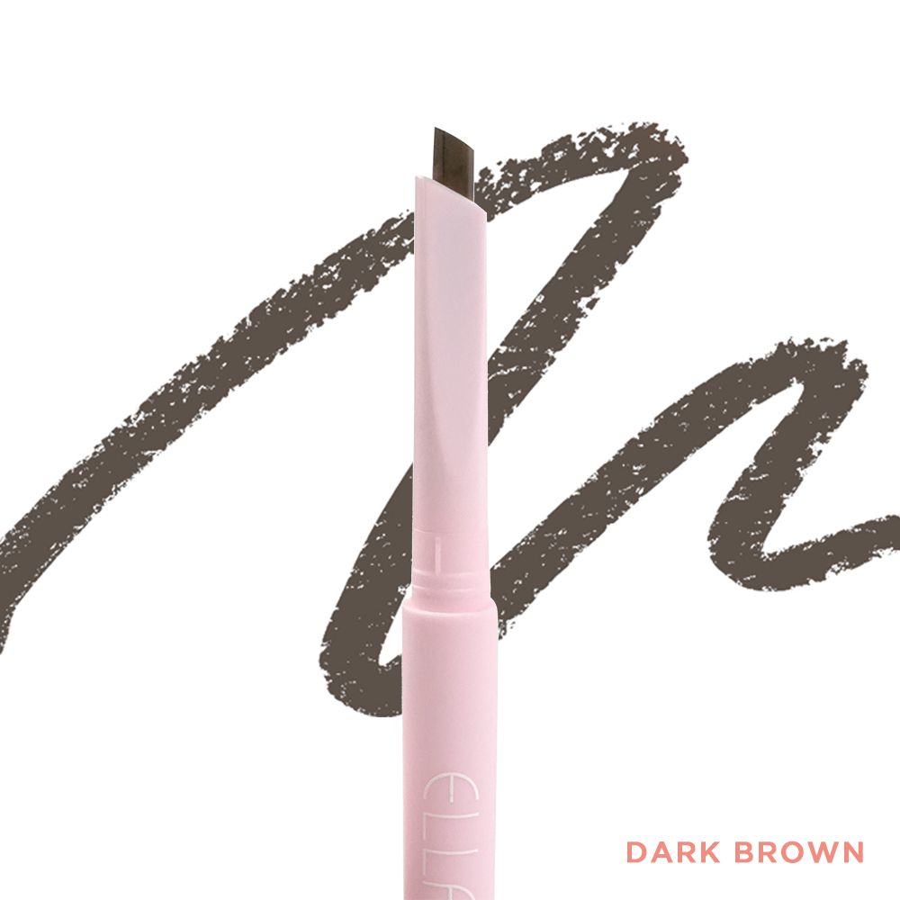 *Dark Brown Life-Proof Eyebrow Pencil with Castor Oil