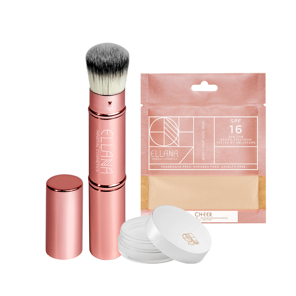 Stay Gorgeous Brush and Concealer Set