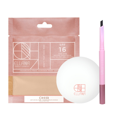 Poreless Powder Base and Brows Set