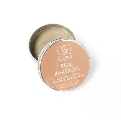Real Rhassoul Morrocan Lava Clay Mask
