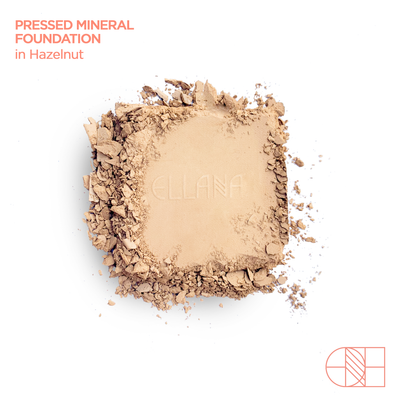 Hazelnut | Pressed Mineral Foundation with Palette