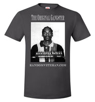 Original Gangster OG Snoop Dogg Mugshot T-shirt