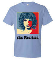 27 Club Jim Morrison Short Sleeve Anvil Soft T-shirt *Front/Back Print* - Random Veteran LLC