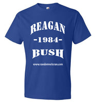 Vintage Presidential T-shirts featuring Reagan Bush 1984