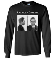 American Outlaw Long Sleeve Shirt (Unisex) - Random Veteran LLC