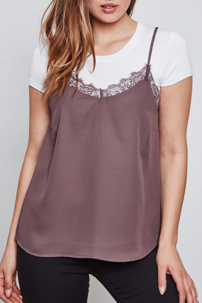LACE TRIM CAMI - STYLE STEALS