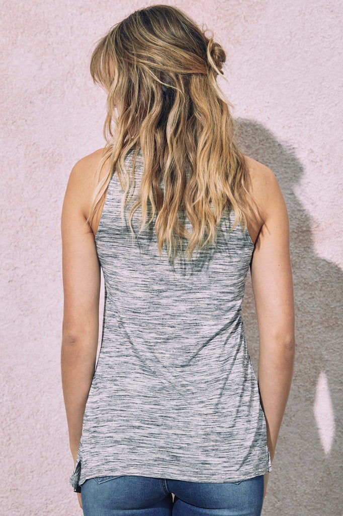 MARLED KNOT FRONT TANK