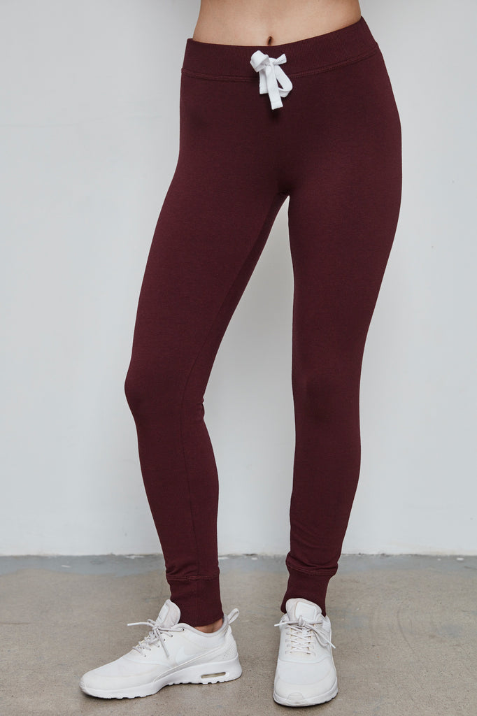 CUFFED DRAWSTRING LEGGING