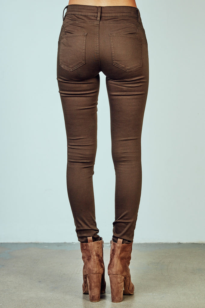 RIO OLIVE BETTER BOOTY JEGGING - STYLE STEALS