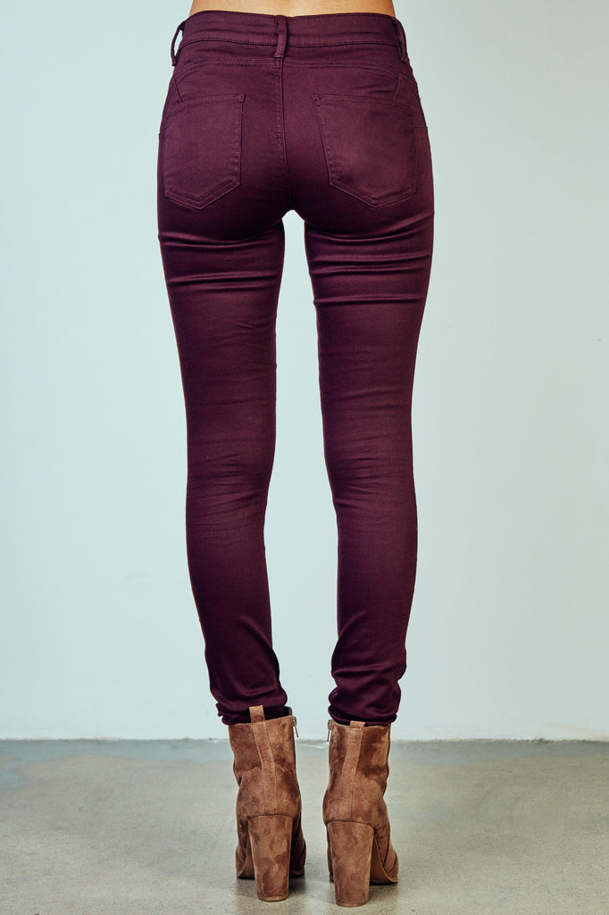RIO PLUM BETTER BOOTY JEGGING - STYLE STEALS