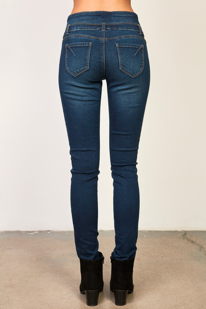 MONACO HIGH RISE SUPER SLIMMER JEAN