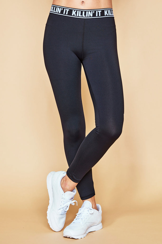 MID RISE GRAPHIC INFINITE LEGGING