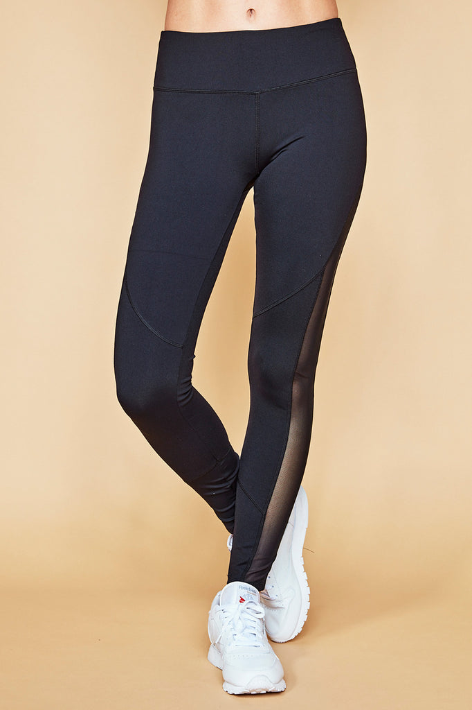 MID RISE MESH PANEL ENERGY LEGGING