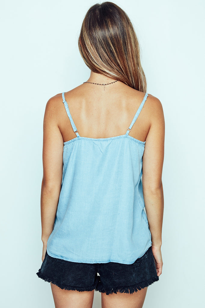 DENIM SWING TANK - PROMO 60% OFF