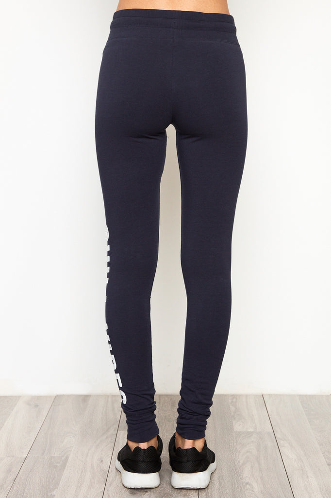 GRAPHIC HIGH RISE DRAWSTRING JOGGER