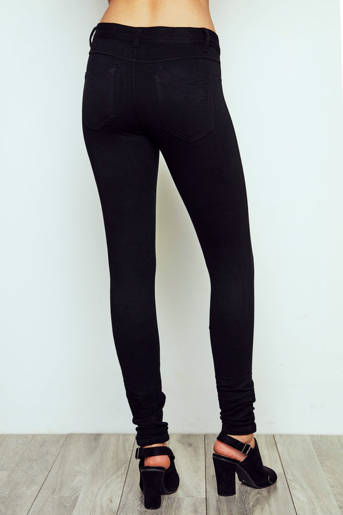 LONDON LOW RISE BLACK SKINNY JEAN - STYLE STEALS ITEM