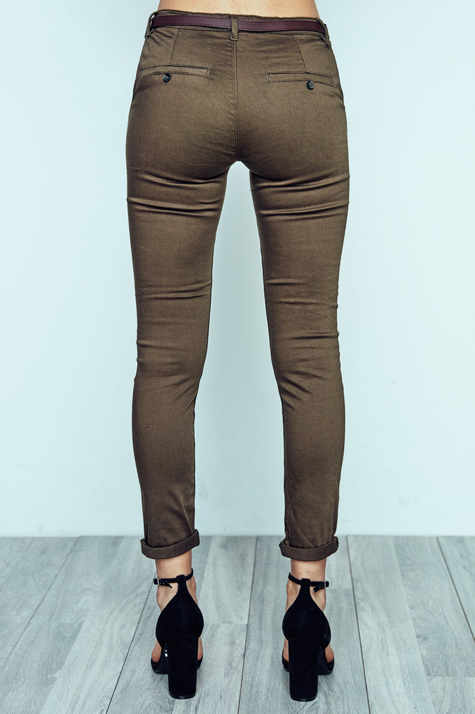 BELTED CHINO PANT - $15 PROMO