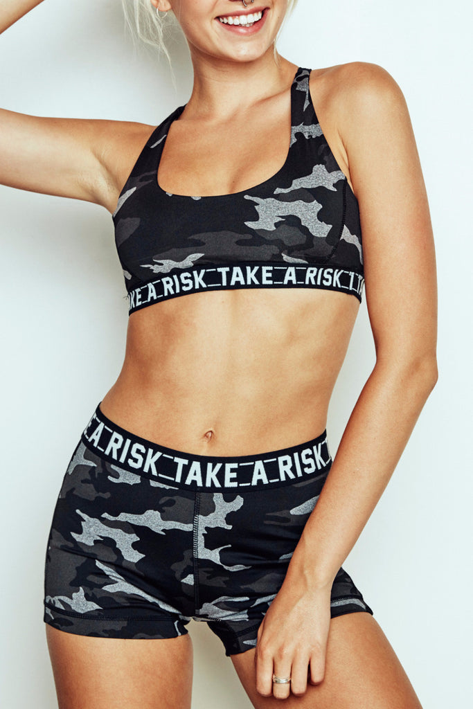 TAKE A RISK GRAPHIC INFINITE SHORT - PROMO 50% OFF