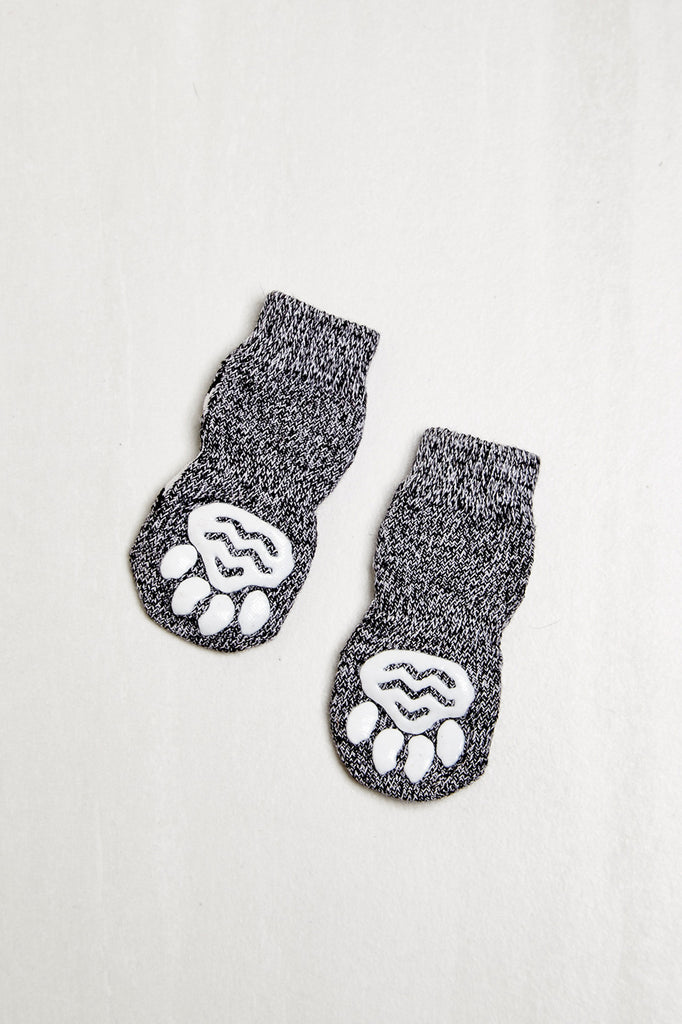 ZIG ZAG PRINT KNIT PET SOCK - HOLIDAY