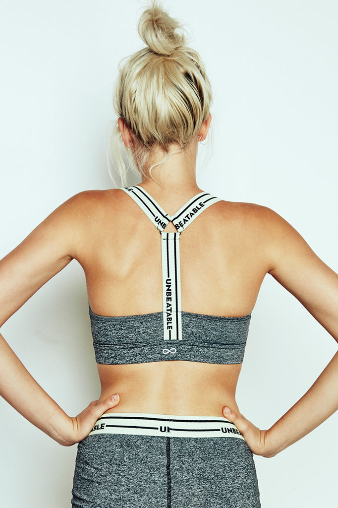UNBEATABLE GRAPHIC WARRIOR SPORTS BRA