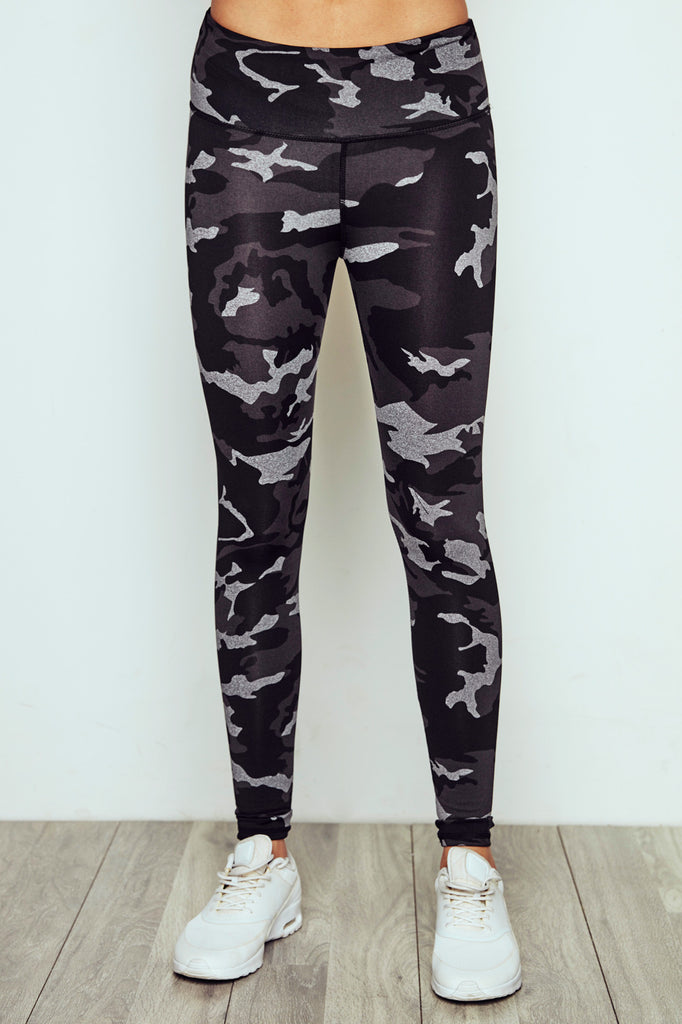 LOW RISE CAMO LEGGING - PROMO 60% OFF