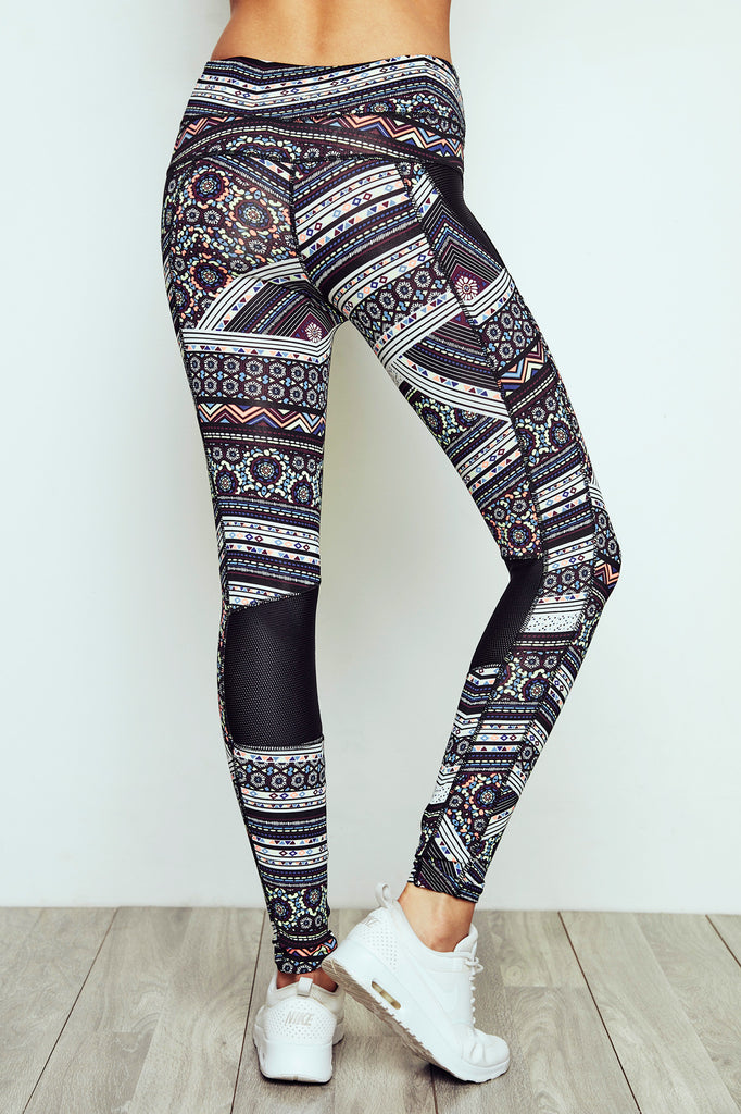 PRINT HIGH RISE LEGGING