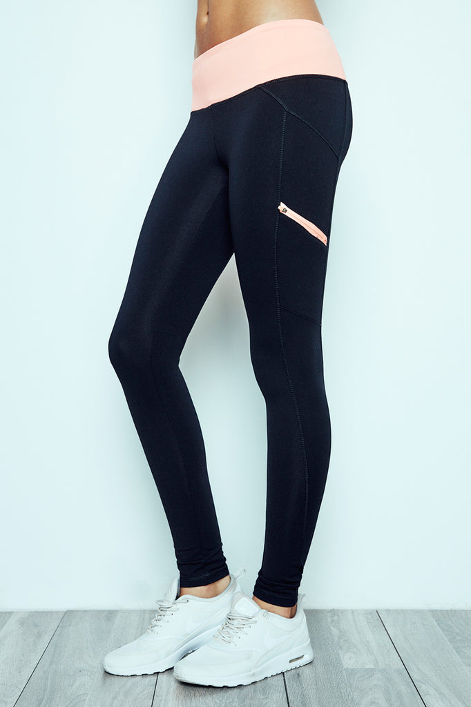COLOR BLOCKED ENERGY LEGGING - PROMO 60% OFF