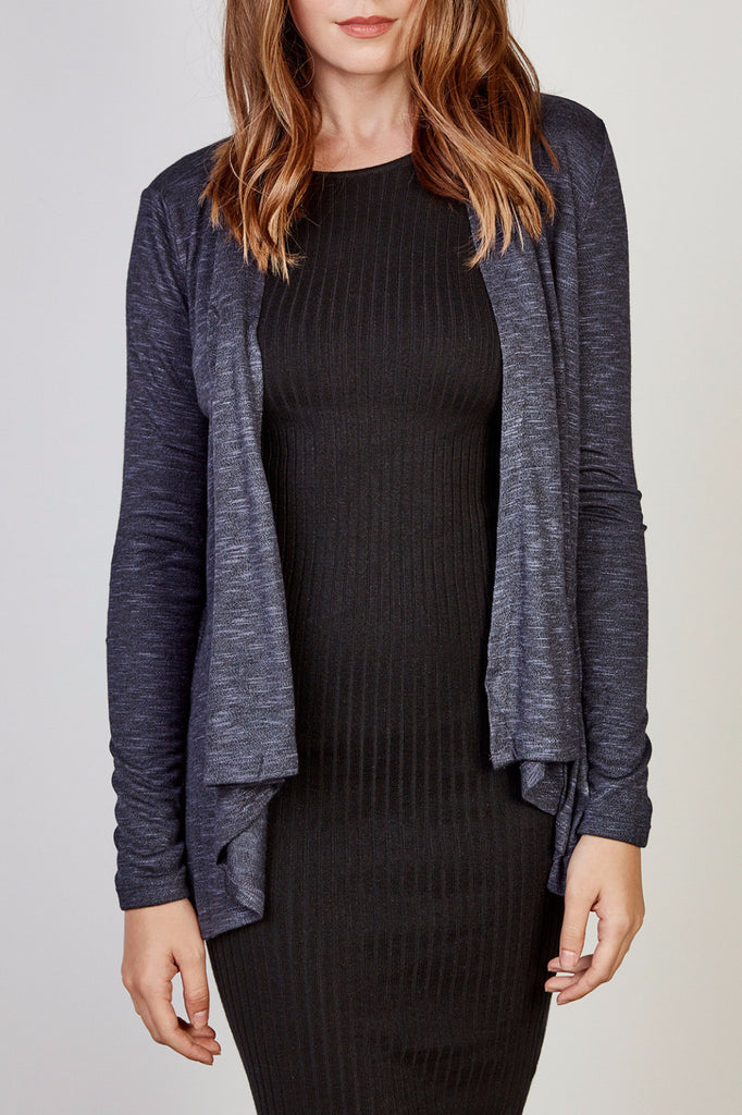 LIGHTWEIGHT WATERFALL CARDIGAN - STYLE STEALS ITEM
