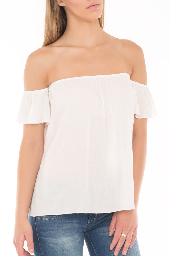COVER GIRL OFF THE SHOULDER TOP