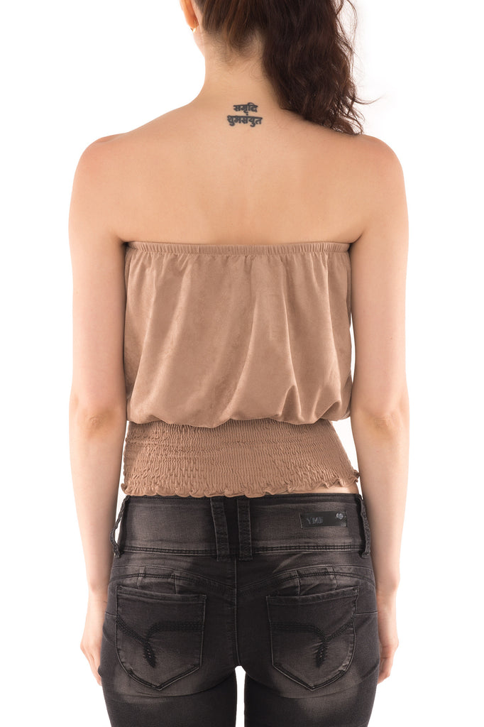 BOHO CHIC STRAPLESS TOP