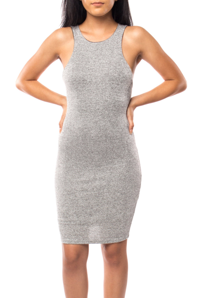 MARLED STRAPPY BACK BODYCON DRESS