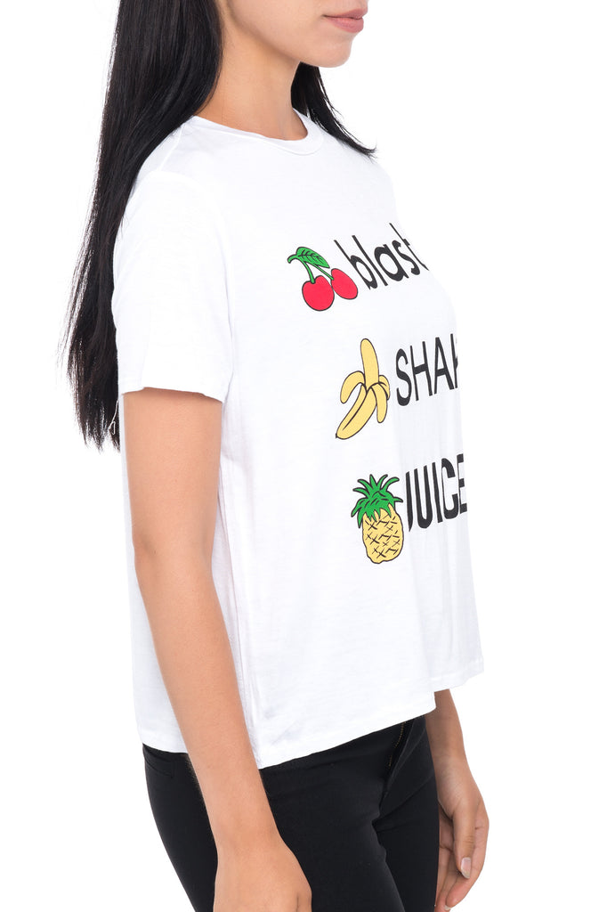 BLAST SHAKE JUICE GRAPHIC TEE