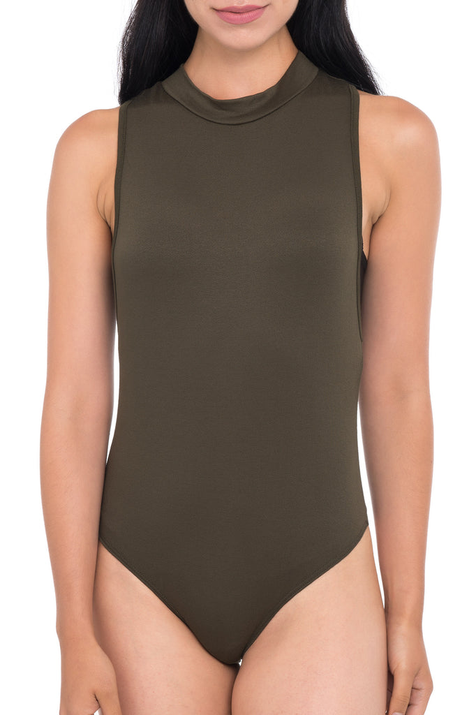 DEEP ARMHOLE BODYSUIT WITH SNAPS