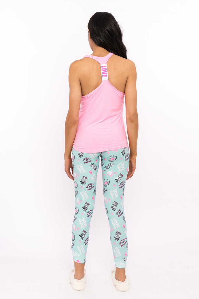 2-Piece Never Enough Sleep Tank and Pant Pajama Set