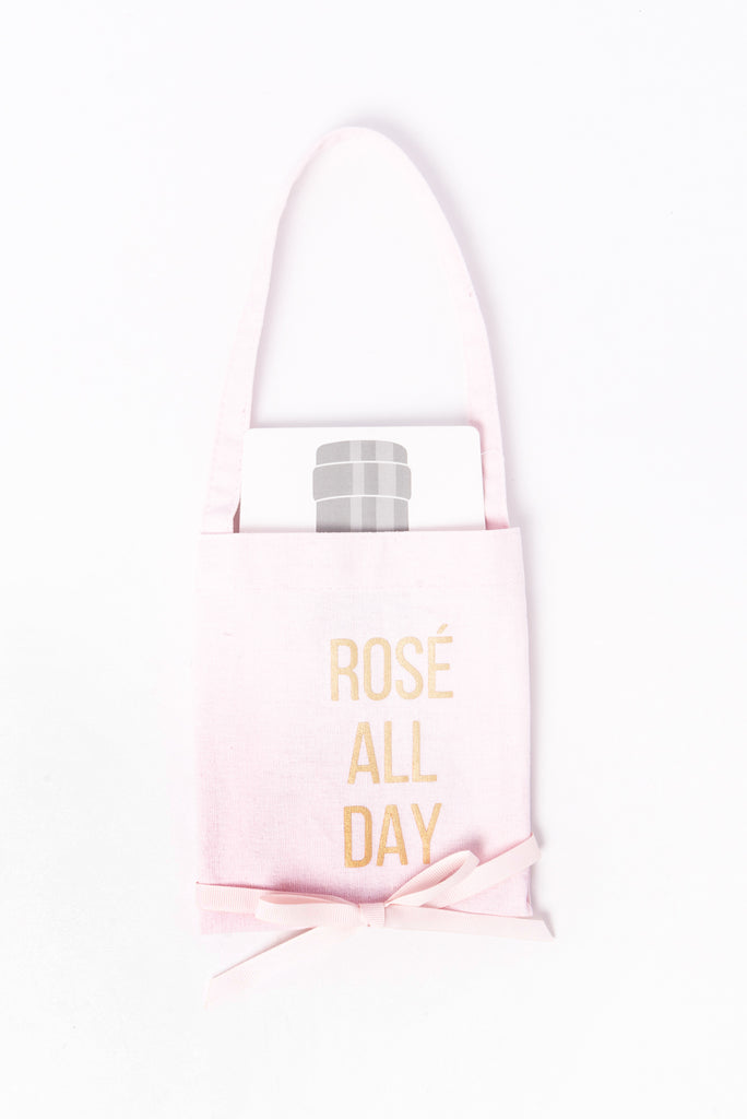 Rose' All Day Wine Bag