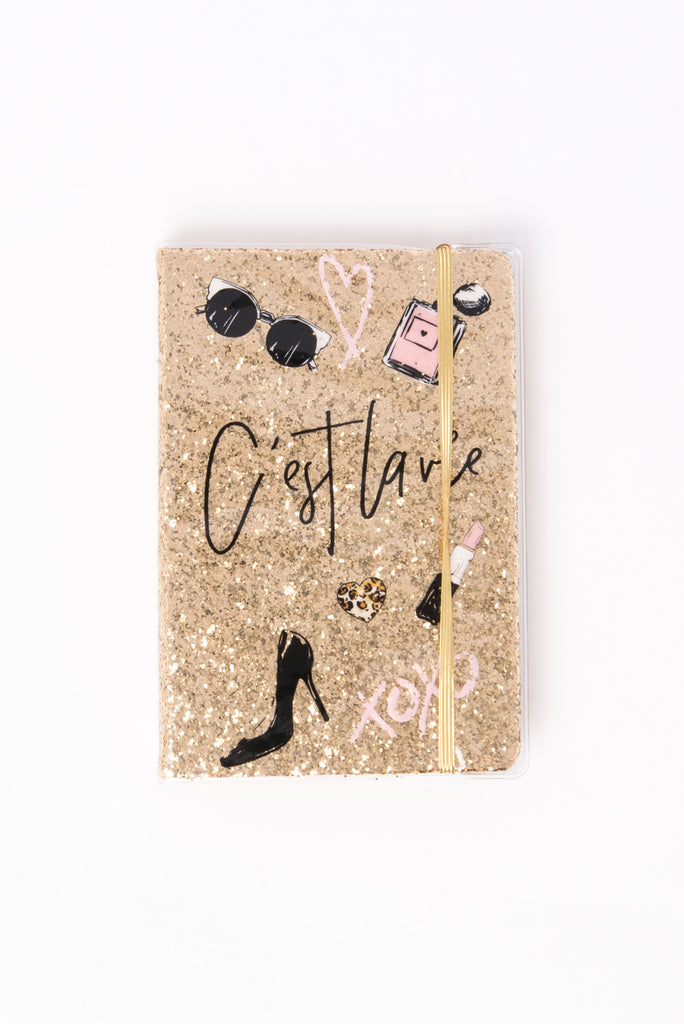 Cest Lavie Spiral Notebook