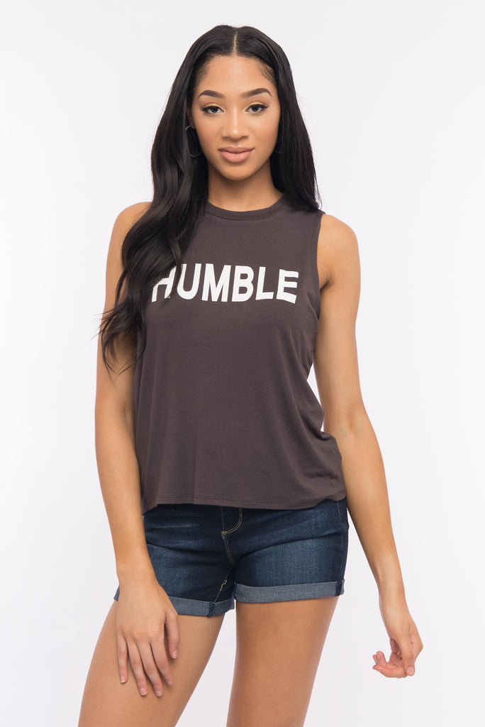 Humble Graphic Muscle Tee