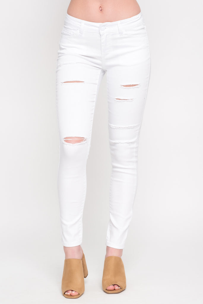 WAX JEAN 3 BUTTON SKINNY