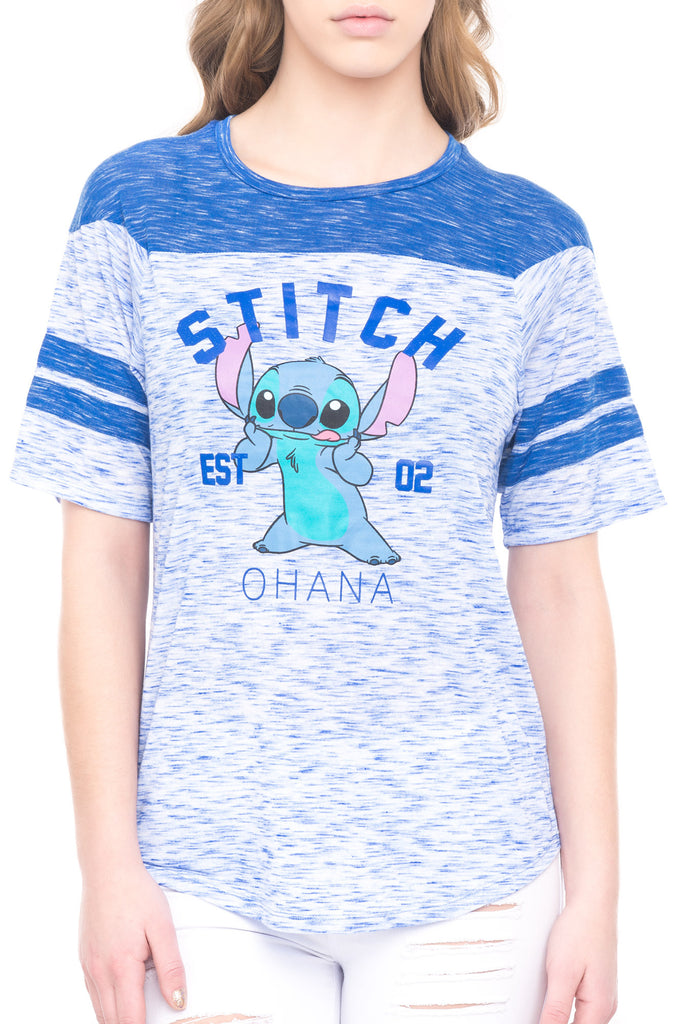 BURNOUT STITCH TEE