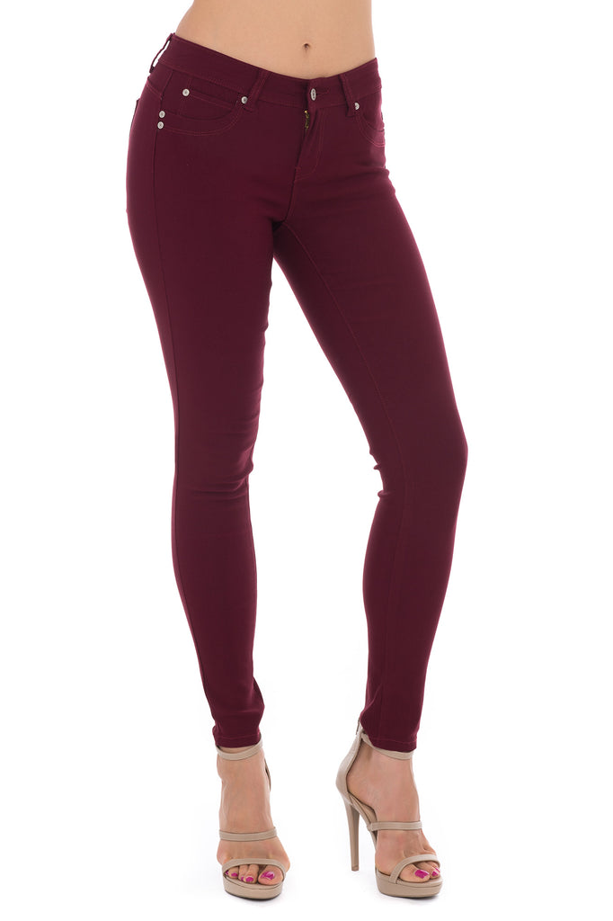 HYPERSTRETCH BUTT LIFTER LOW RISE SKINNY JEAN - STYLE STEALS