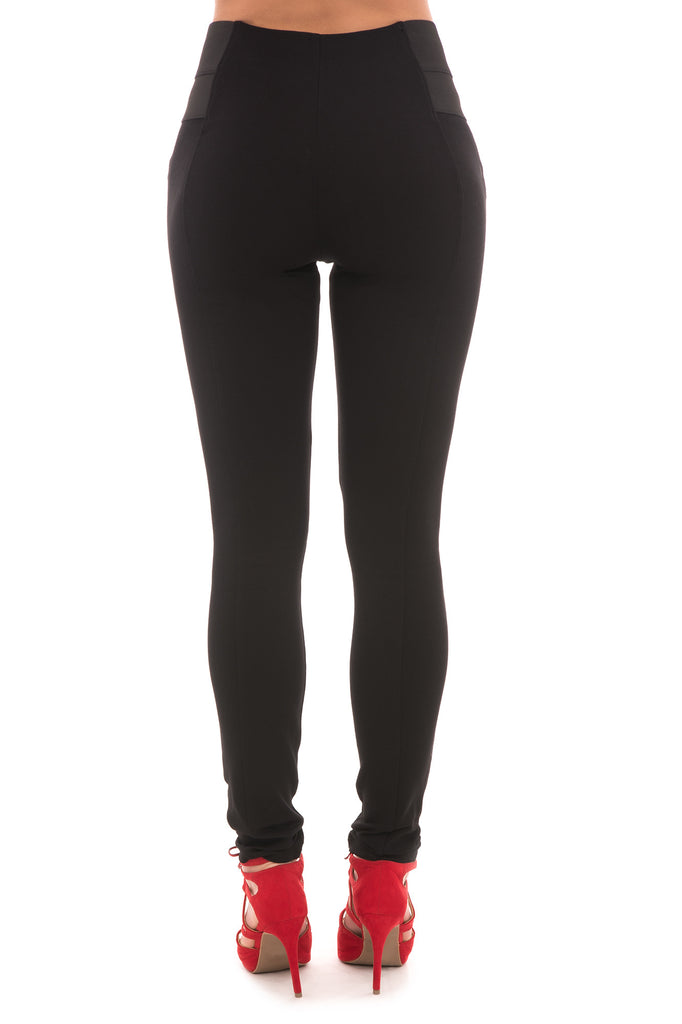 SHINESTAR BLACK CAREER PANT